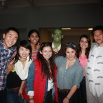 From left to right:  Yuki Ito, Kathleen Li, Sharada Sant, Heather McSherry, Nick Bayhi, Emily Eickhoff, Ava Sanayei, Will Wong Missing: Jaclyn Foisy