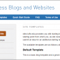 "Service News: New ""starting template"" feature on sites.tufts.edu"