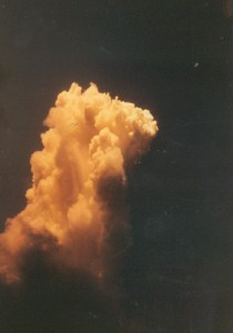 Mushroom Cloud, May 1962 - probably Dominic I atomic tests on Christmas Island