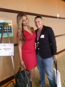 Renee' with Laverne Cox at Creating Change.
