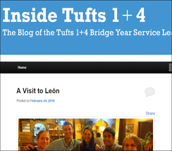 Inside Tufts 1+4