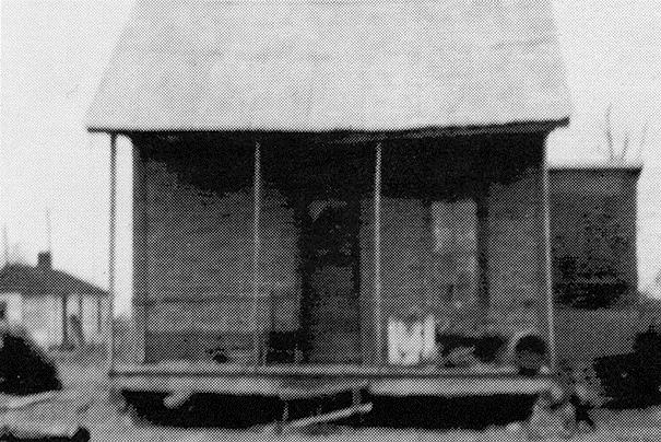 Old Housing in Mound Bayou