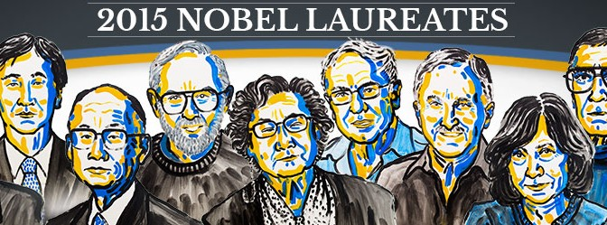 2015 Nobel Prizes in the fields of Physiology or Medicine and Chemistry