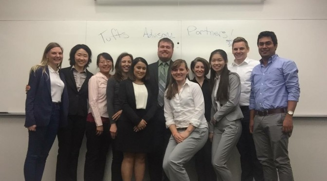 Tufts Advisory Partners mean business
