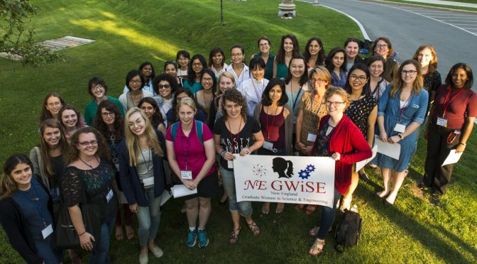 An exciting new group, NEGWiSE, kicked off this summer with an Inaugural Retreat connecting New England area graduate women in science and engineering