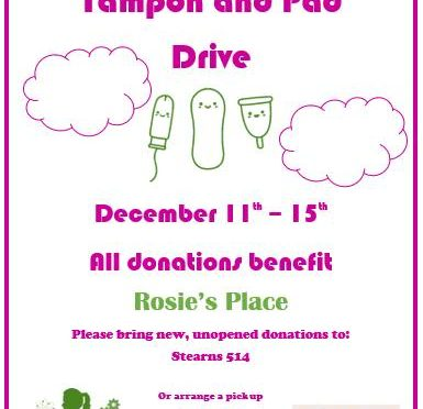 Rosie's Place Donation Drive Sheds Light on Pervasive Gender Bias