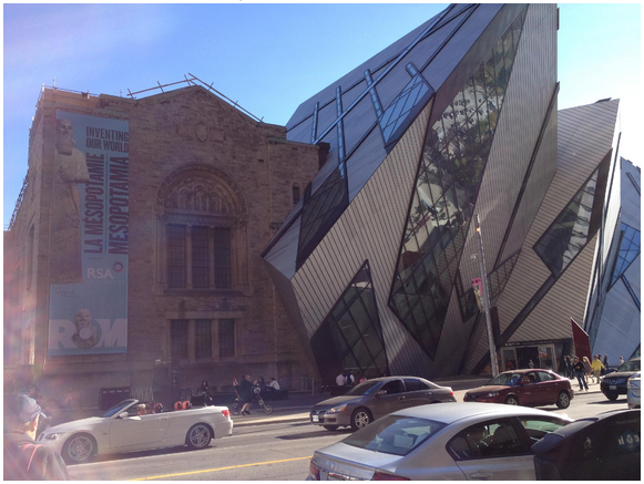 The Royal Ontario Museum, Toronto.