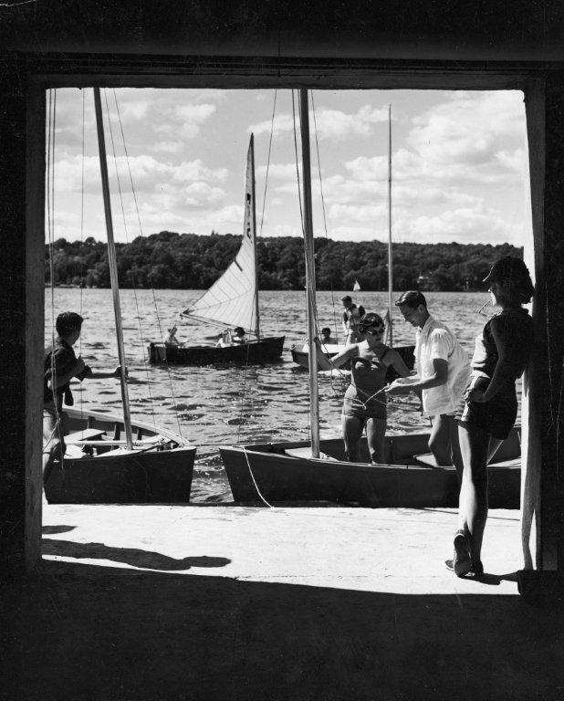 1960 view from boathouse