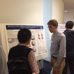 Ian presenting poster