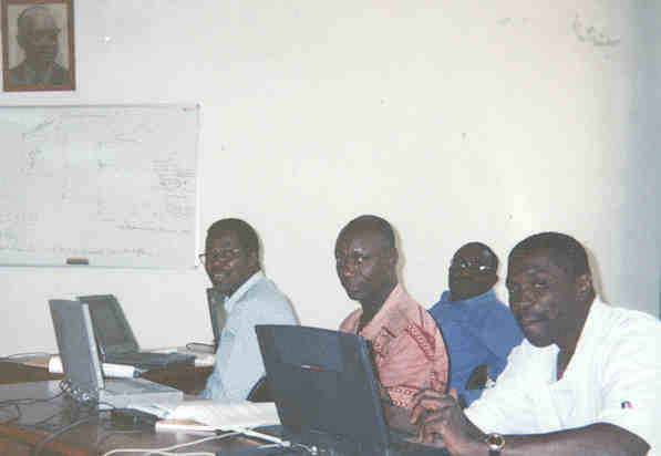 Impact Workshop Training-of-Trainers Session, Praia 2000