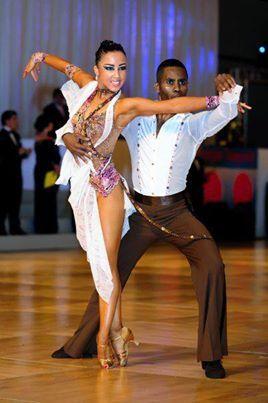 Emmanuel Pierre Antoine And Liana Churilova on Foxtrot Rhythm