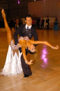 World Professional Smooth Champions Peter and Alexandra Perzhu