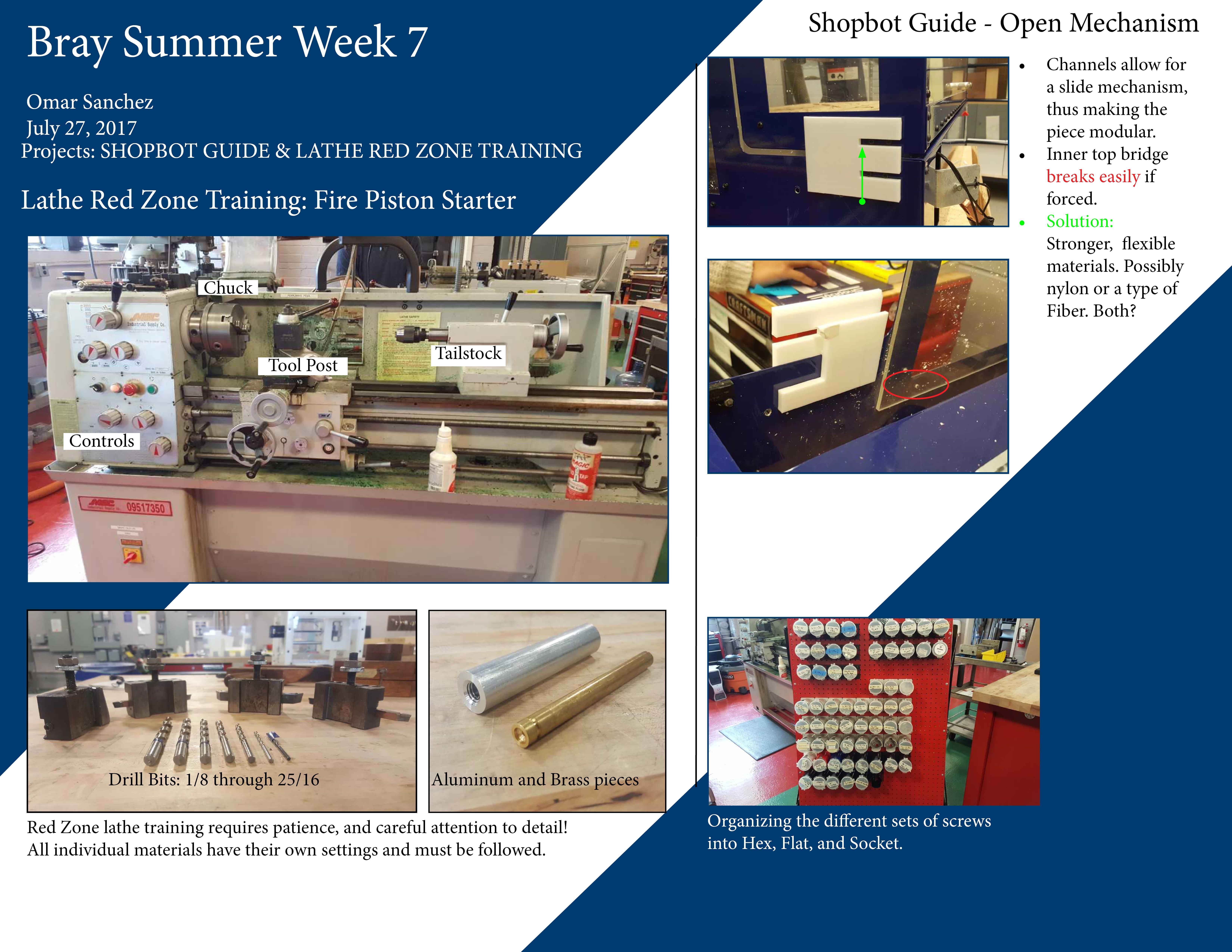 Week 7 – Omar