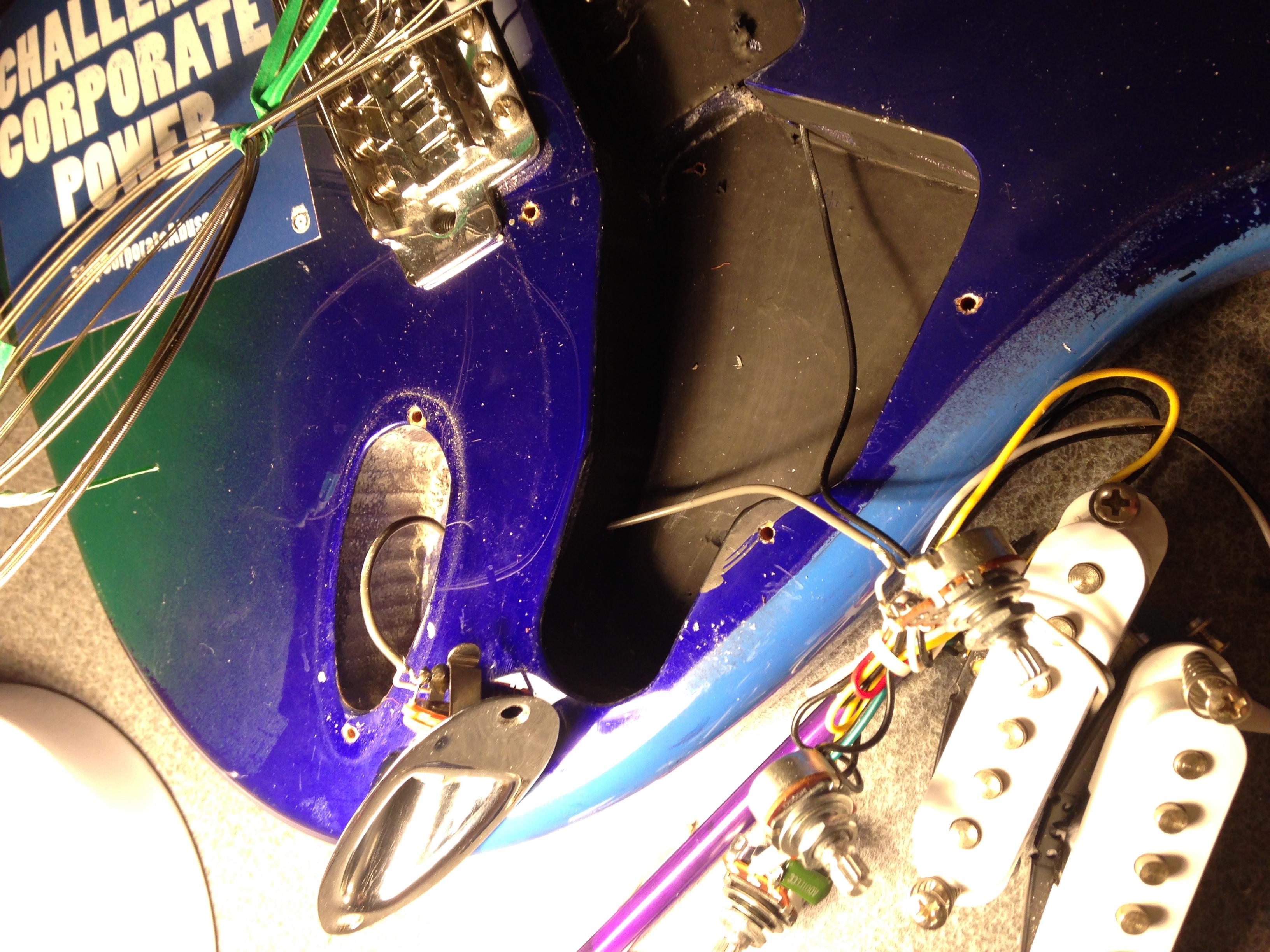 Electric Guitar Build – Bray Lab