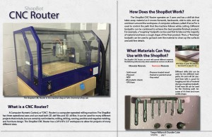 Introduction to the ShopBot CNC Router
