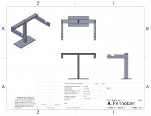 Shop Redesign – Penholder