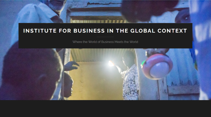 "IBGC Blog: ""Where the World of Business Meets the World"""