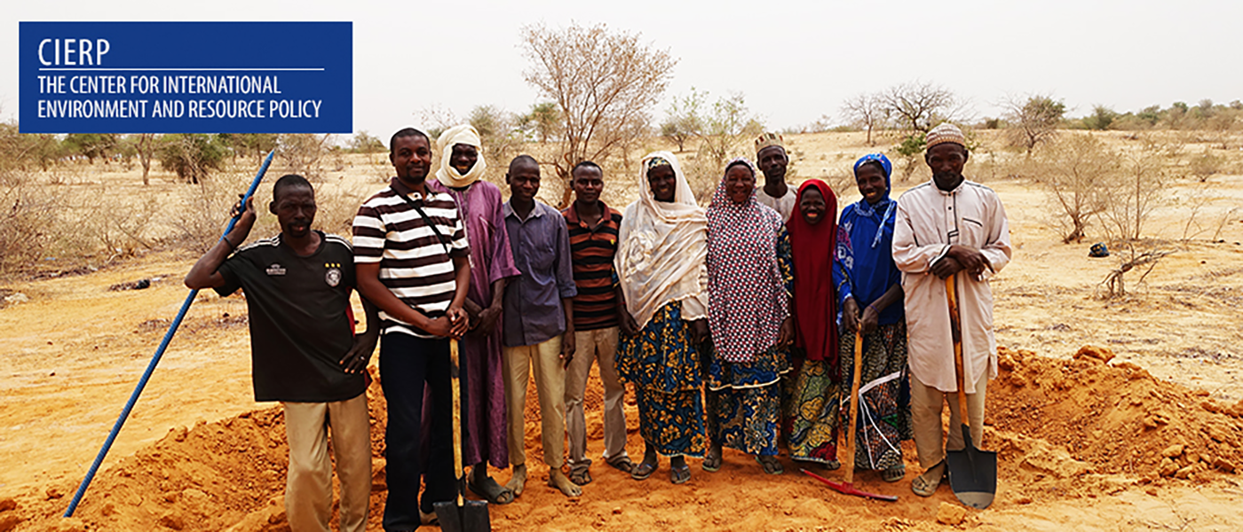 RainWater Harvesting in the Sahel