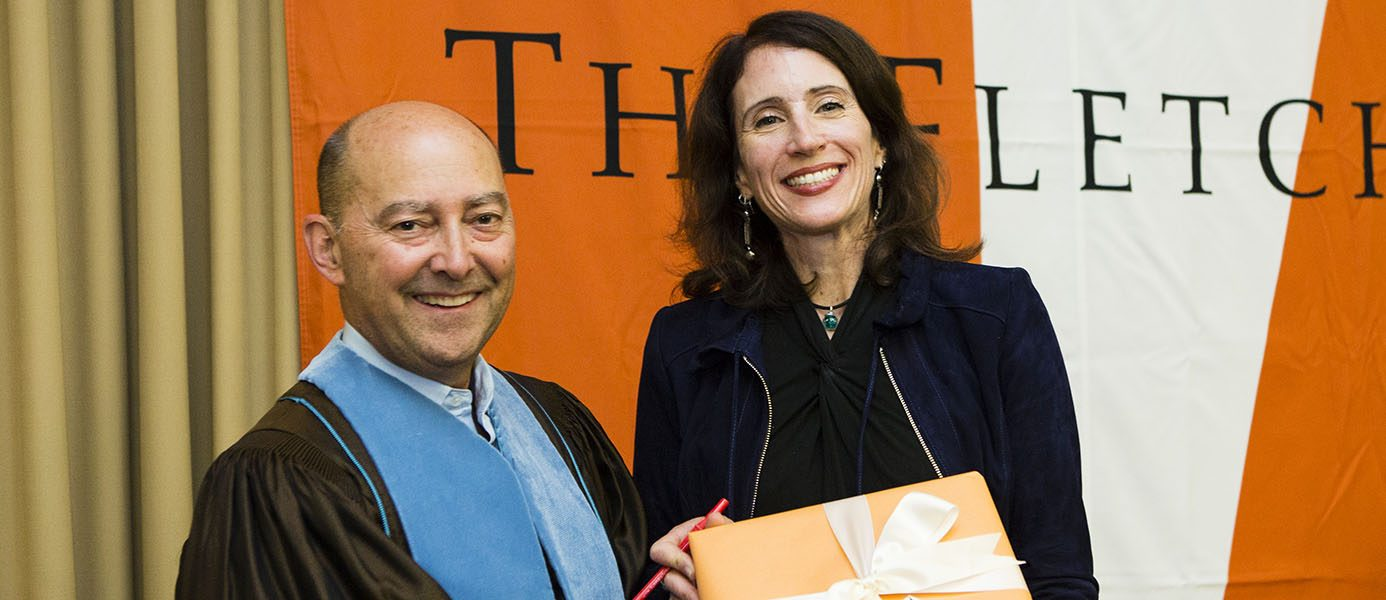 Professor Jenny Aker receives Faculty Research Award