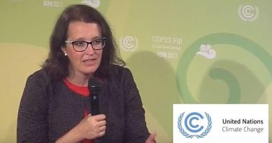 Professor Gallagher interviewed by UN Climate Action Studio