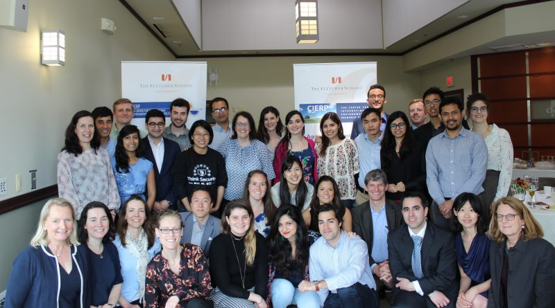 Group photo of CIERP faculty and students at the 2018 CIERP graduation ceremony