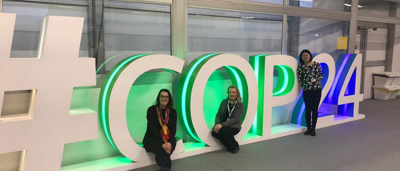 CIERP Attends the COP in Katowice, Poland