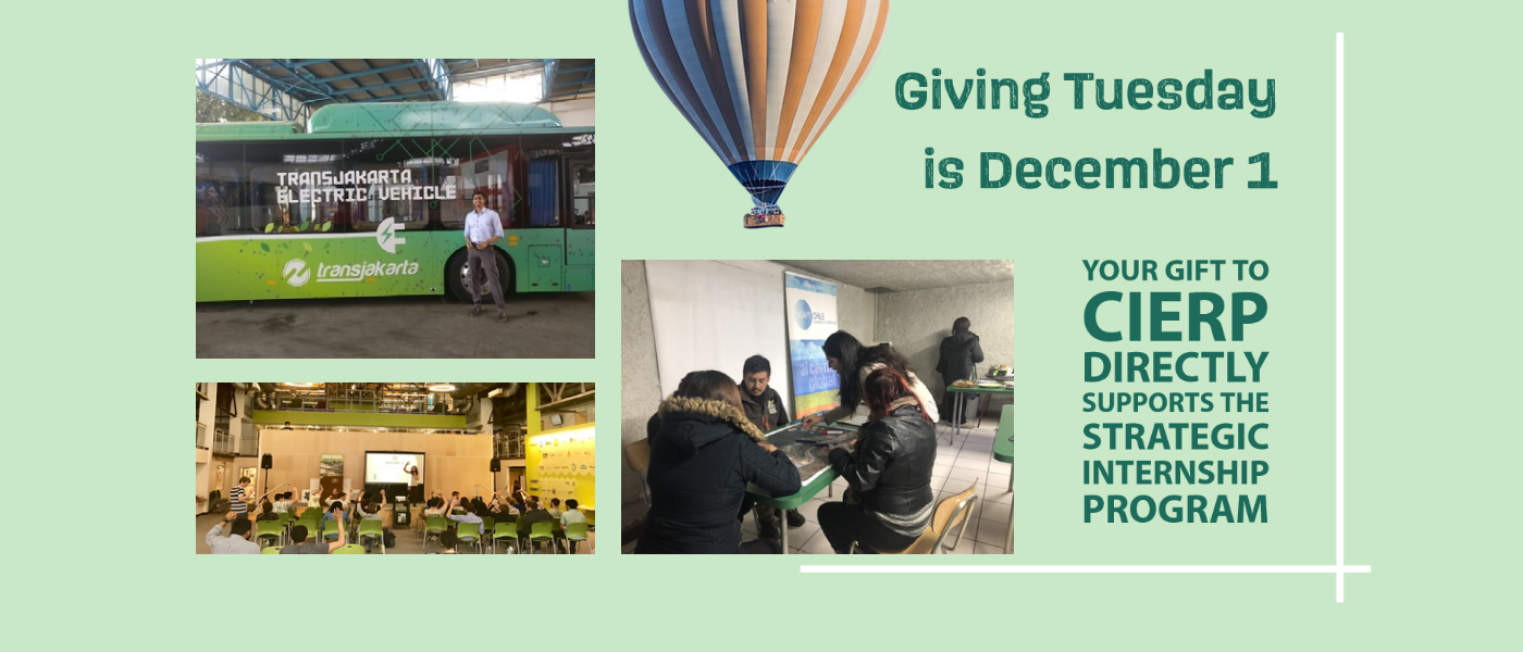 Support CIERP Students on Giving Tuesday