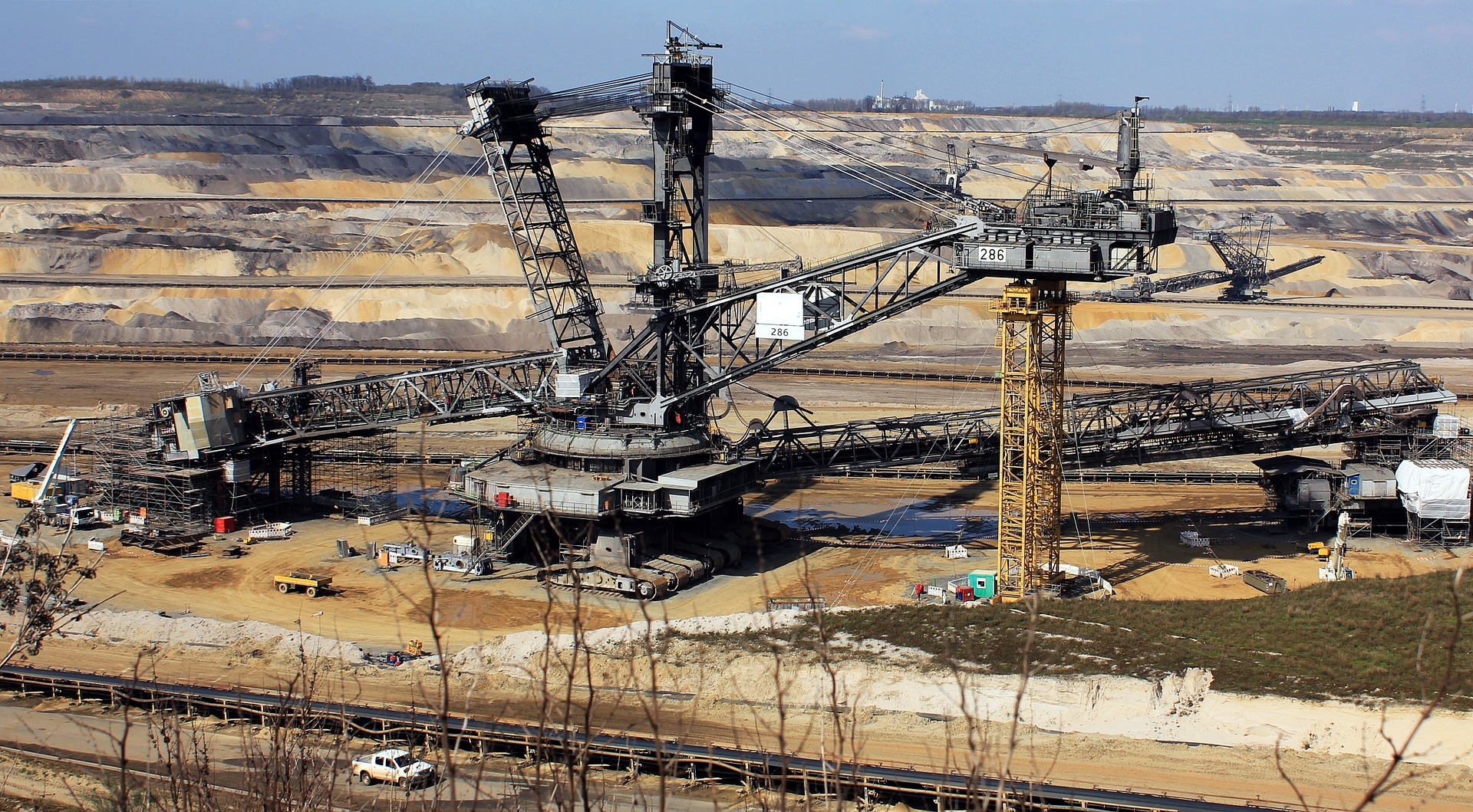 Photo of coal mine