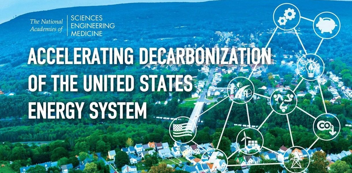 Kelly Sims Gallagher spoke at the NAS Public Briefing on the Accelerating Decarbonization of the U.S. Energy System report