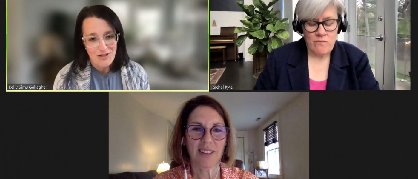 Fletcher Dean Rachel Kyte, Professor Kelly Sims Gallagher, and Amy Myers Jaffe discuss the Climate Summit and moving towards COP26 in a webinar