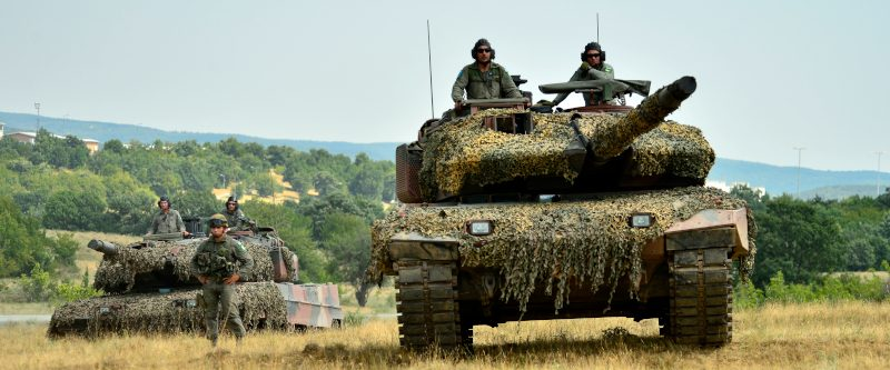 Greek Land Forces and German Bribery