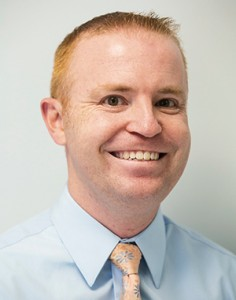 Darren Drag, director of clinic operations for Tufts Dental Facilities. Photo: Alonso Nichols