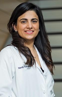 03/22/2016 - Boston, Mass. - Portrait of Mandeep Alamwala (D16) taken inside the Tufts University School of Dental Medicine. (Matthew Healey for Tufts University)