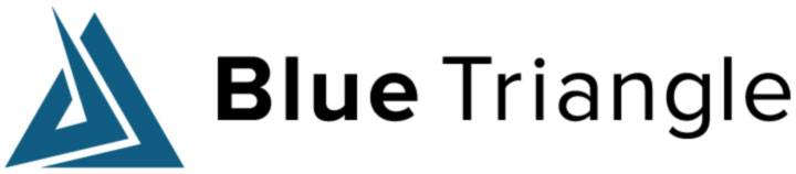 Blue triangle technologies logo