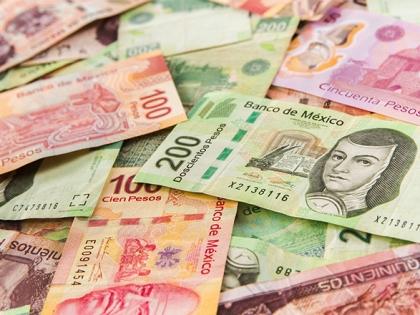 Pile of pesos