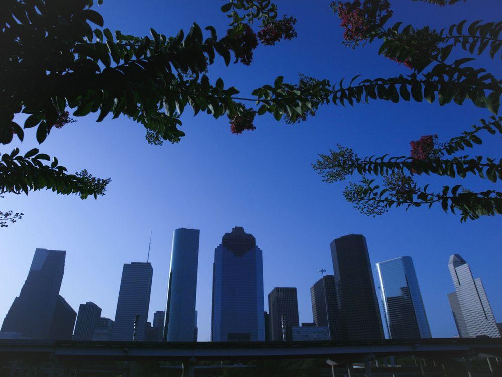Downtown view of Houston, Texas.