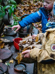 Nature's Toolbox: Learning with Nature at the Auchlone Nature Kindergarten