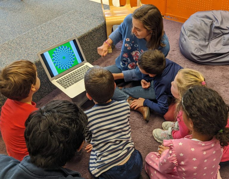 Undergraduate students enrolled in Philosophy for Children course engages our young thinkers in exploring and examining their perceptions.