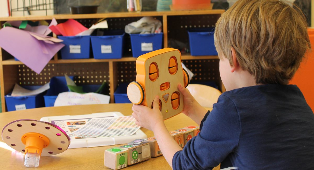 At EPCS we integrate  Developmental Technology into our curriculum.