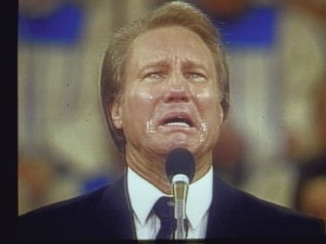 Television evangelist Jimmy Swaggart