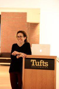Rania Matar at Tufts University.
