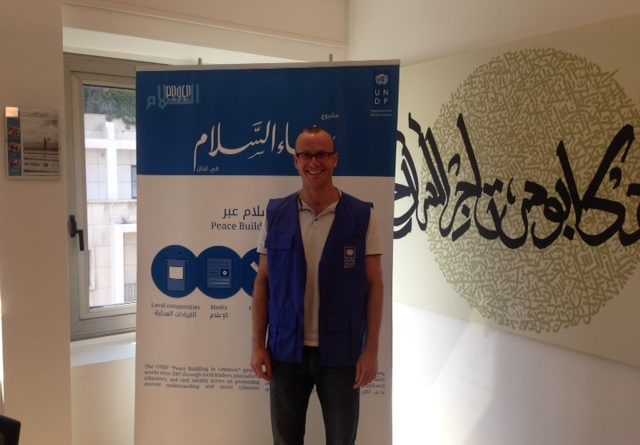 Dave Moulton with UNDP in Tripoli