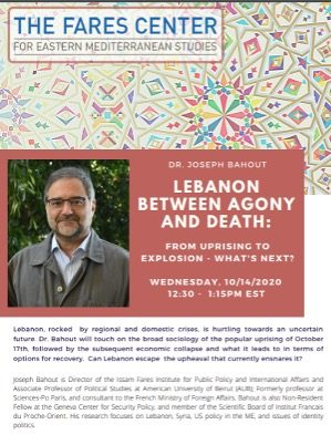 Lebanon between Agony & Death: From Uprising to Explosion