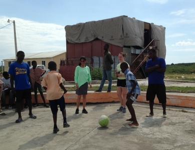 Soccer in Haiti