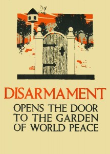 A poster from The World Peace Foundation archives.