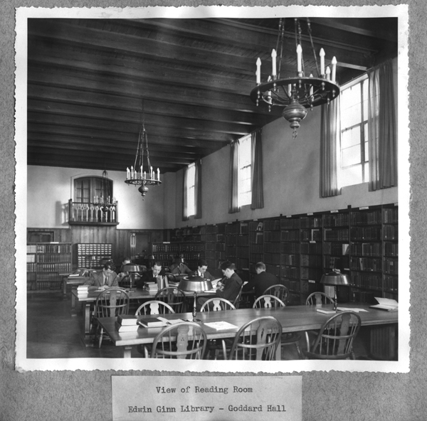 Ginn Reading Room