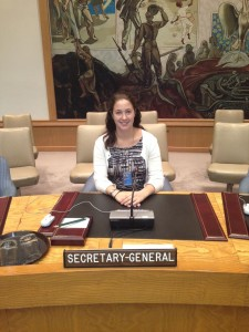 Diane at UN