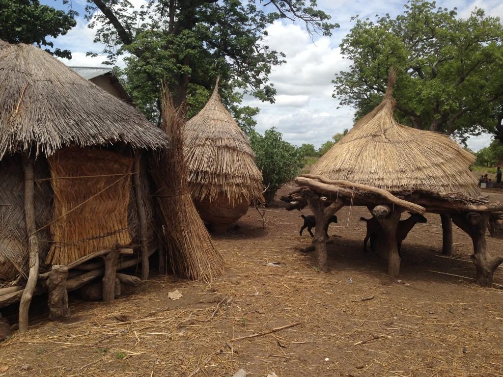 Ghana huts