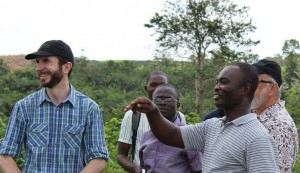 Adam Welti in Ghana
