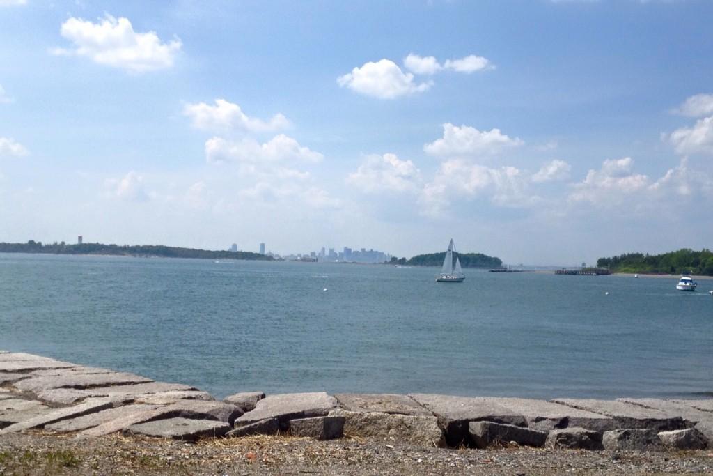George's Island view